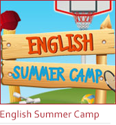 banner english summer camp banner